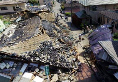 Japan Hit with 7.3 Quake