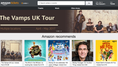 Amazon Getting into ticket Biz?