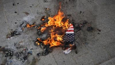 Donald Trump Wants To Outlaw Burning The American Flag