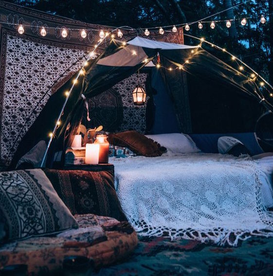 Boho-ify Your Festival Camping Space