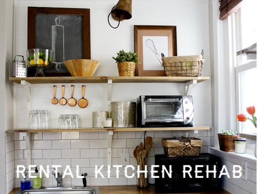 Rental Kitchen Makeover Part 2 - The Inspiration Photos