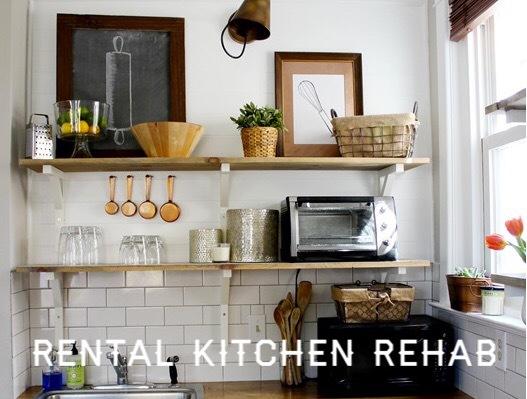 Rental Kitchen Makeover Part 2 - The Inspiration Photos