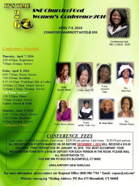 SNE Regional Women's Confernce