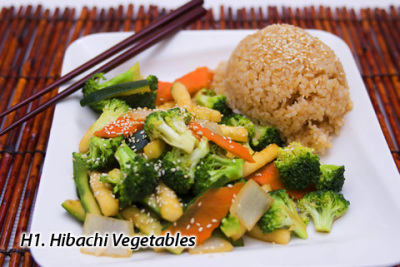 HIBACHI VEGETABLE