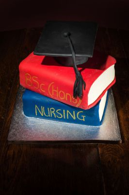 Graduation Cake by NJL Creations