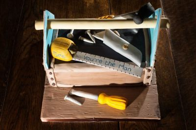 Tool Box Cake by NJL Creations