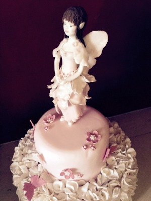 Flower Fairy Cake by NJL Creations