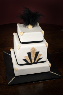 Art Deco Cake by NJL Creations