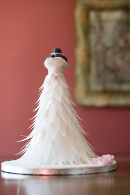 Here Comes the Bride cake by NJL Creations