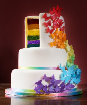 Pride Rainbow Cake by NJL Creations