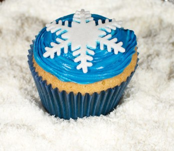 Frozen Cupcake by NJL Creations