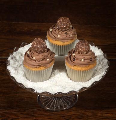 Ferrero Roche Cupcake by NJL Creations