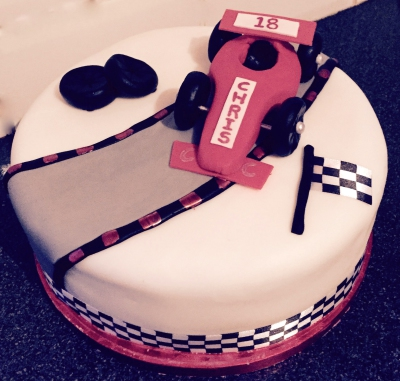 Formula One Cake by NJL Creations