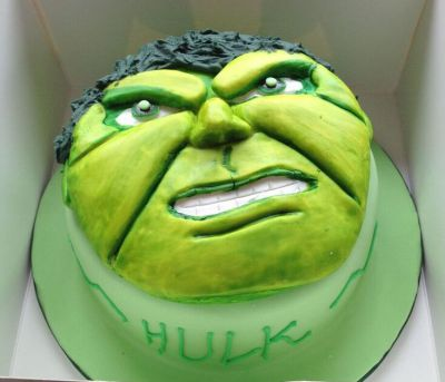 Hulk cake by NJL Creations