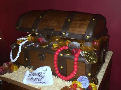 Treasure Chest Cake by NJL Creations