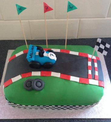 Race Car Cake by NJL Creations