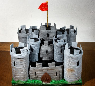 Tudor Castle Cake by NJL Creations