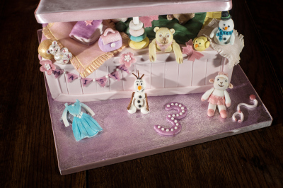 Toy Box Cake by NJL Creations