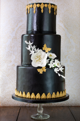 Vintage Black Cake by NJL Creations