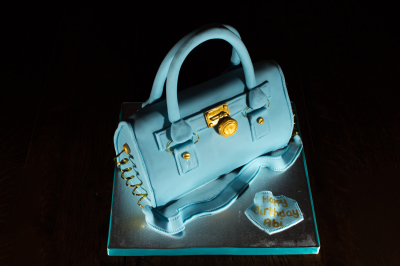 Handbag Cake by NJL Creations