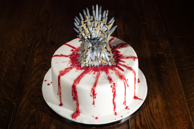 game of thrones cake by NJL Creations