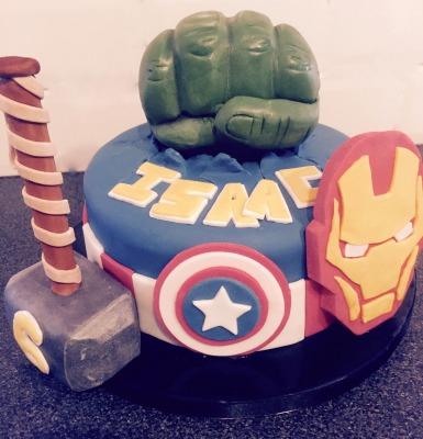 avengers cake £55