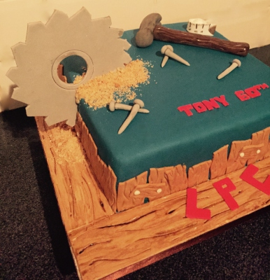carpenter cake by NJL Creations