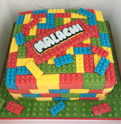 lego cake by NJL Creations