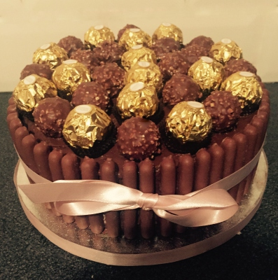 ferrero rocher cake by NJL Creations