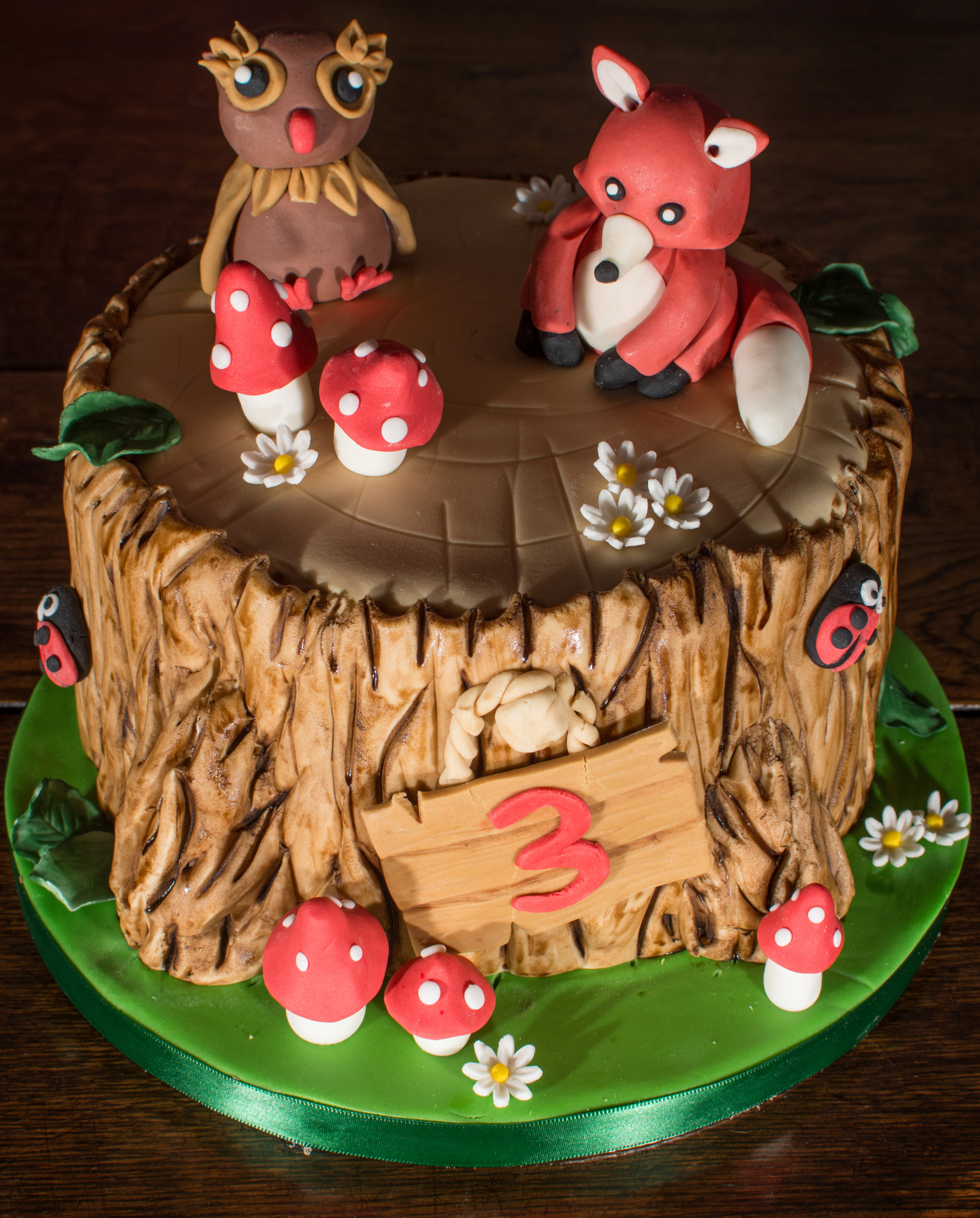 woodland fairy tale cake by NJL Creations