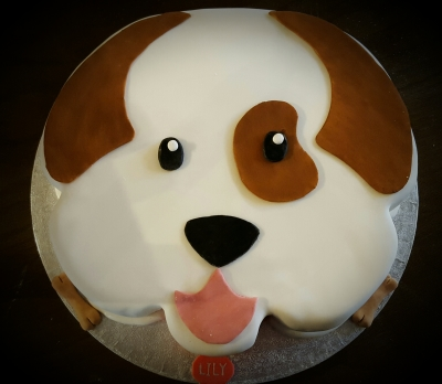 puppy dog cake by njl creations