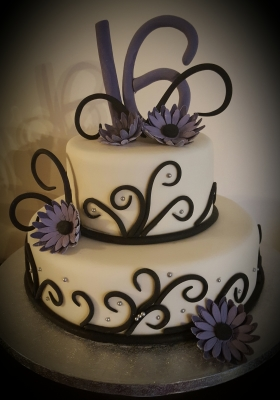 2 tier birthday cakes by njl creations