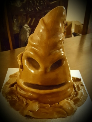 harry potter sorting hat birthday cake by njl creations