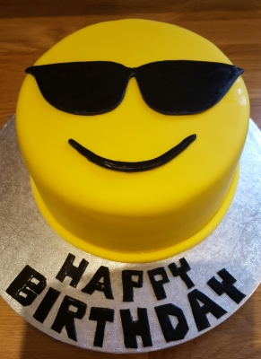 emoji birthday cake by njl creations