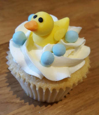 rubber duck cupcakes by njl creations