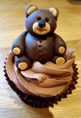 teddy bear cupcakes by njl creations