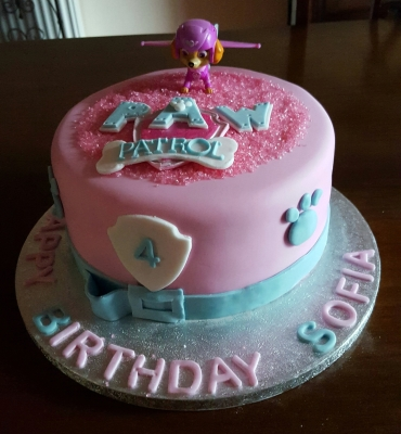 paw patrol birthday cake by njl creations