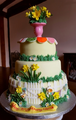 three tier birthday cakes by njl creations