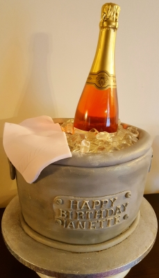 ice bucket cake by njl creations