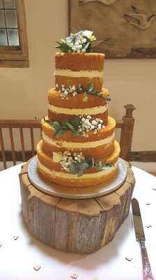 naked wedding cakes by njl creations