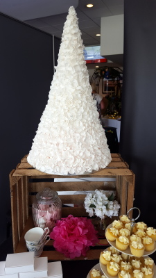 rose petal tower £450