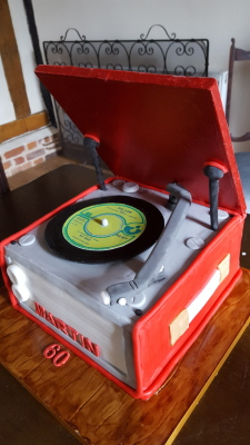 vintage record player £100