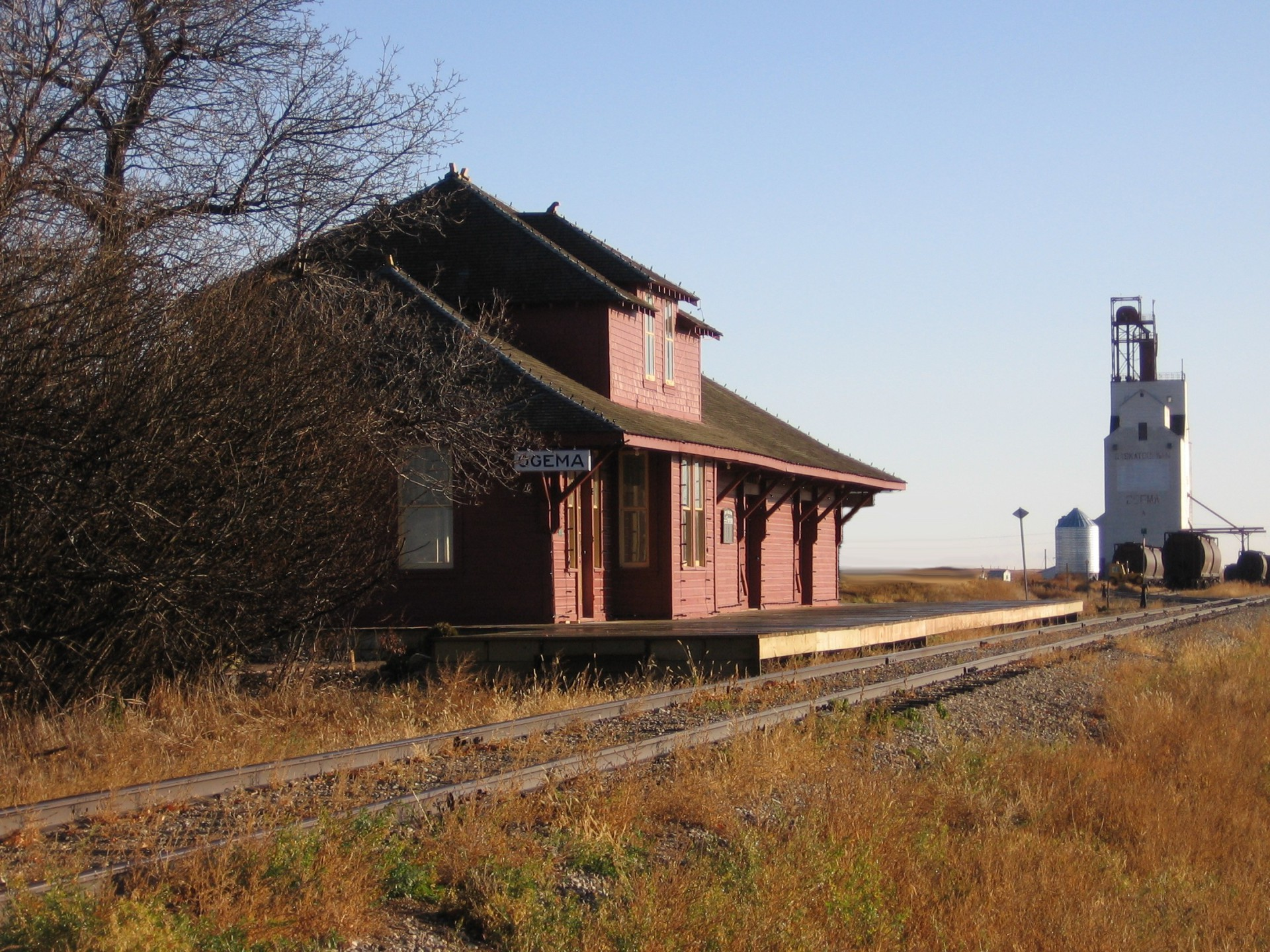 1912 CPR Train Station