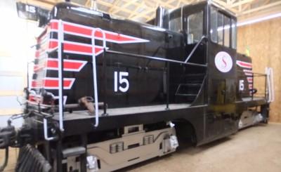 GE 44-toner Diesel Locomotive