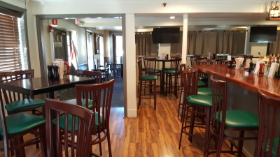 Another angle of our new bar