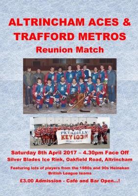 Altrincham Aces / Trafford Metros Reunion Match - 8th April at Silver Blades Altrincham