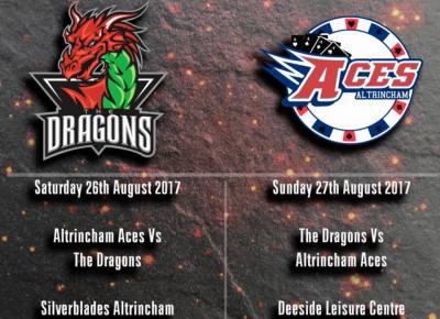 Aces announce Pre season fixtures