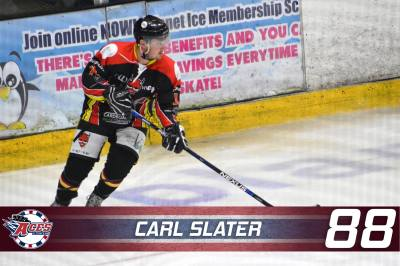 SLATER SIGNS UP - CARL SLATER #88