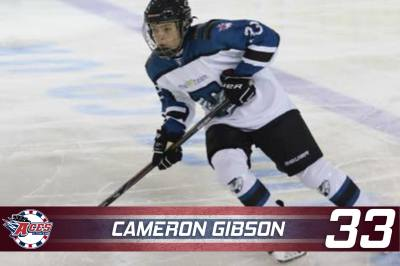 ACES LOOK TO YOUTH IN GIBSON - CAMERON GIBSON #33