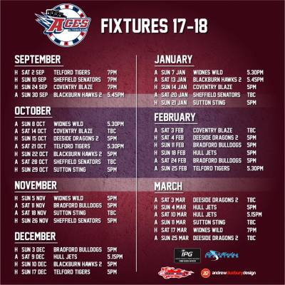 The Fixtures Are Here